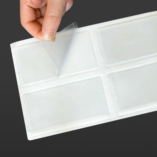 Name Card Pocket, Self Adhesive, Lux (100 pcs)