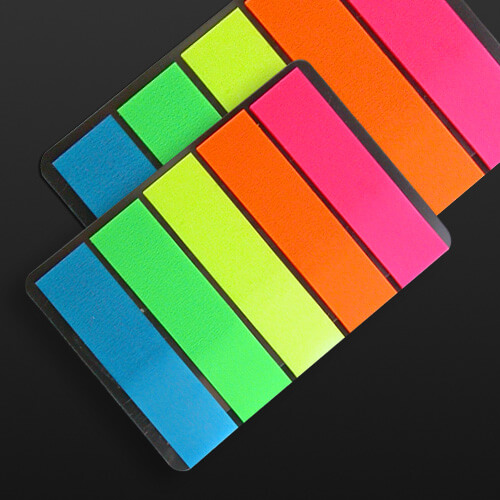 Sticky Note Seperator, Index, Markers 100 pcs