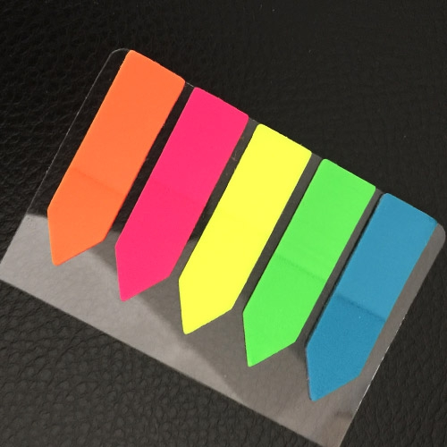 Sticky Note Seperator, Index, Markers 100 pcs (Arrow type)